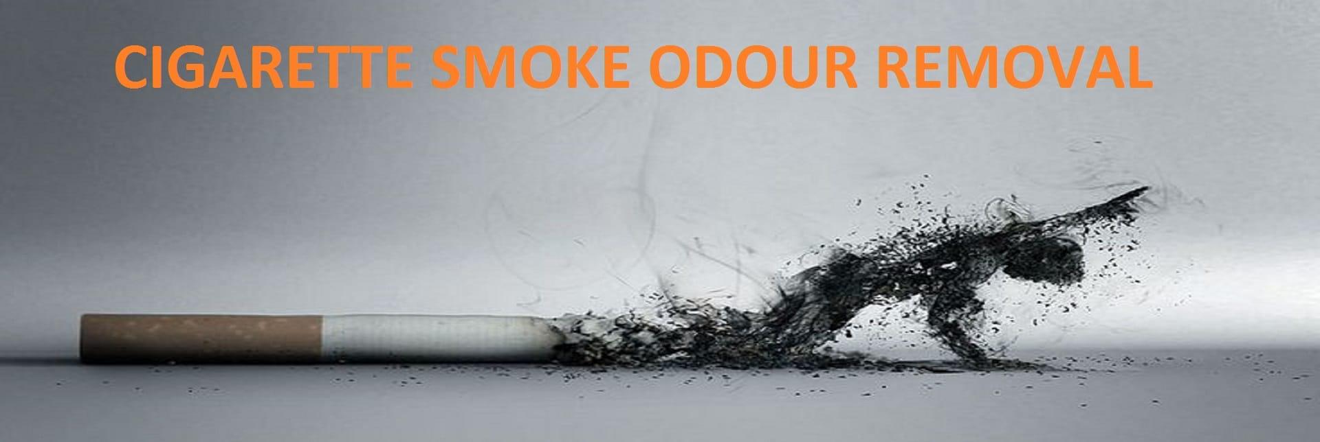 remove cigarette odour Ottawa